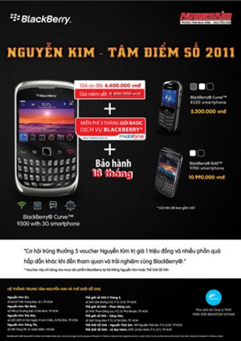 Giảm 2 triệu đồng cho BlackBerry 9300