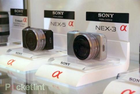 Góc nhìn thực tế Sony NEX 3, NEX 5