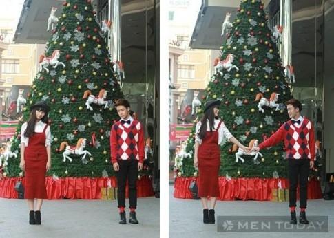 Gợi ý những set đồ cho cặp đôi đón Giáng sinh ngọt ngào