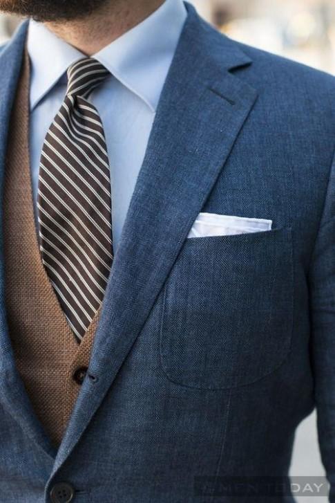 Gợi ý: Phối đồ nam hoàn hảo cùng sơ mi xanh