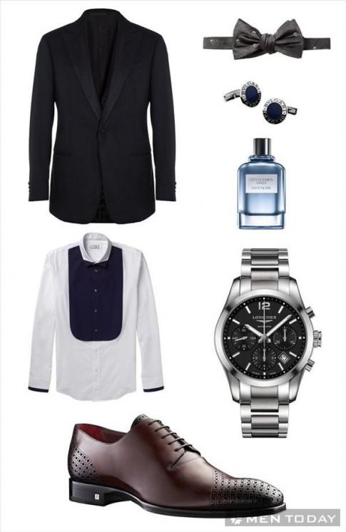 Gợi ý: Set đồ cho các quý ông trong tiệc cưới