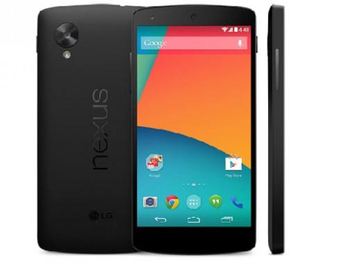 Google bất ngờ bán Nexus 5 với Android 4.4 Kitkat