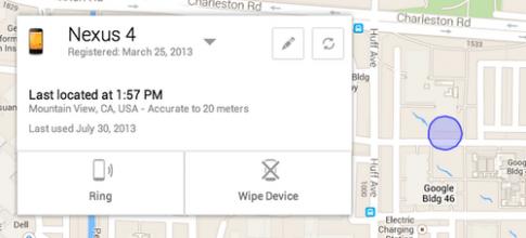 Google giới thiệu tính năng 'chống trộm' cho Android