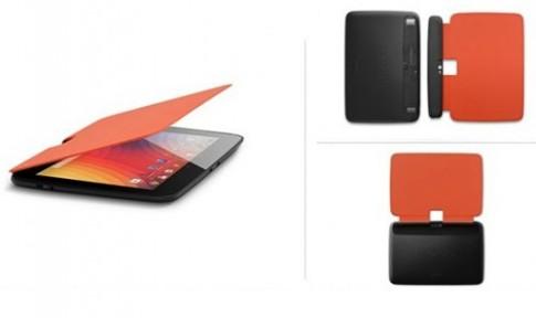 Google Nexus 10 có phụ kiện bảo vệ Book Cover