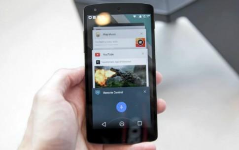 Google phát hành Android L cho Nexus 5 và Nexus 7