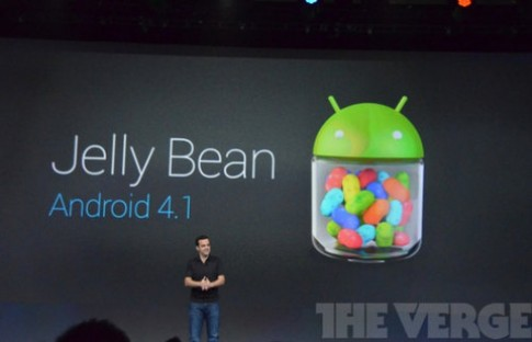 Google ra mắt Android 4.1 Jelly Bean