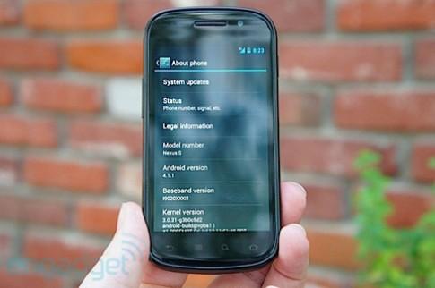 Goolge nâng cấp Nexus S lên Jelly Bean