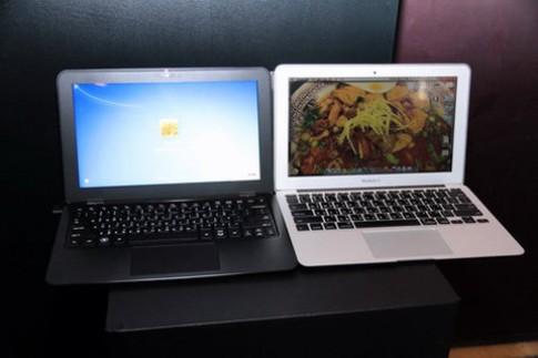 Hai laptop siêu mỏng đọ dáng