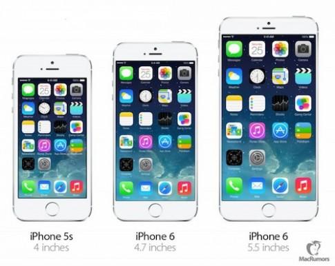 Hai phiên bản iPhone 6 sẽ sản xuất hàng loạt từ tháng 7
