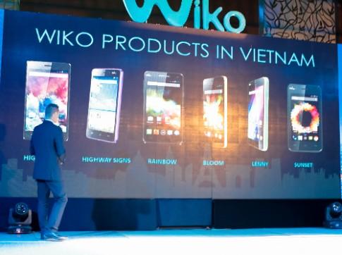 Hãng điện thoại Pháp Wiko vào thị trường di động Việt