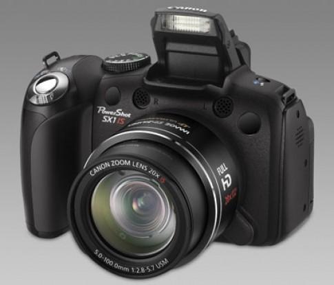 Hàng 'khủng' Canon PowerShot SX1 IS