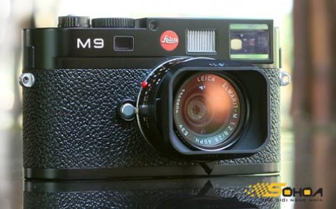 'Hàng khủng' Leica M9 lộ diện tại VN