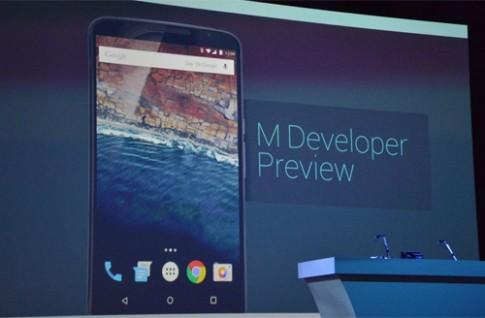 Hệ điều hành Android M ra mắt, cuối năm cho tải về