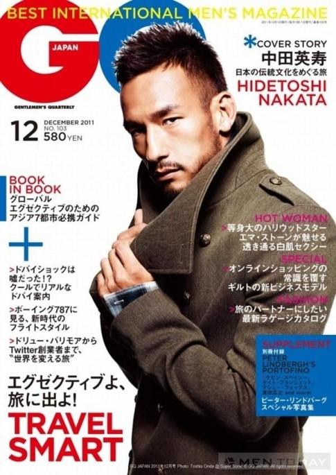 Hidetoshi Nakata và những thành công với thời trang
