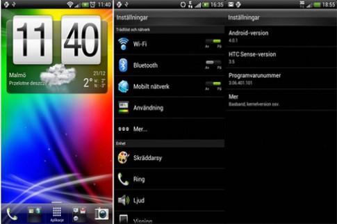 Hình ảnh Android 4.0 trên HTC Sense