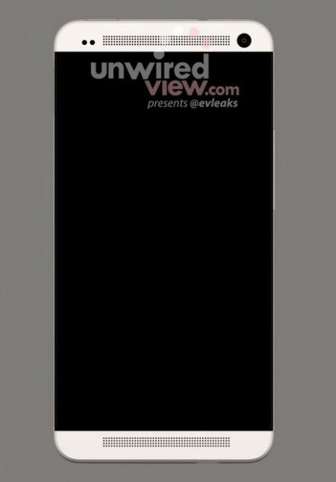 Hình ảnh được cho là điện thoại Full HD HTC M7