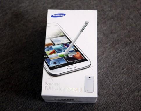 Hình ảnh Galaxy Note II 2 sim tại TP HCM