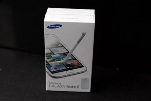 Hình ảnh Galaxy Note II chính hãng tại TP HCM