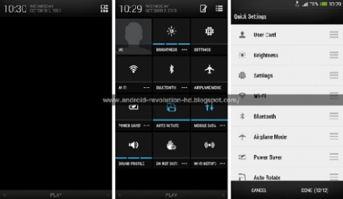 Hình ảnh giao diện Sense 5.5 của HTC