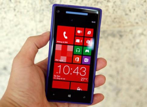 Hình ảnh HTC 8X tại VN
