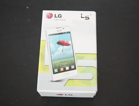 Hình ảnh LG Optimus L5 II tại Việt Nam