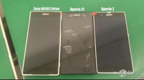 Hình ảnh mới nhất về Sony Xperia Sirius
