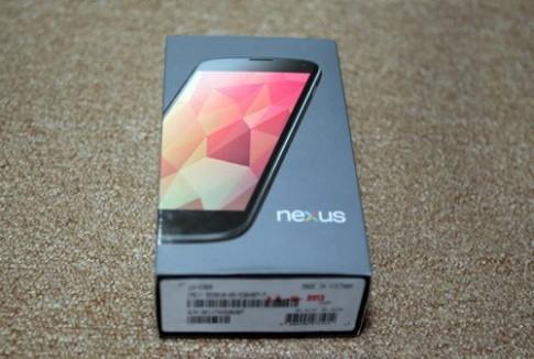 Hình ảnh Nexus 4 chính hãng tại Việt Nam