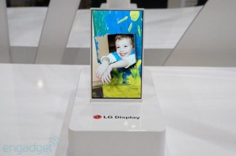 Hình ảnh nguyên mẫu màn hình viền cực mỏng của LG