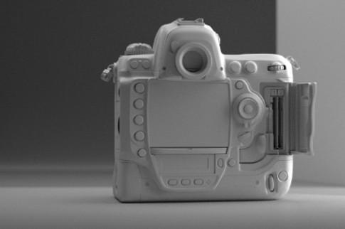 Hình ảnh Nikon D4 là giả mạo