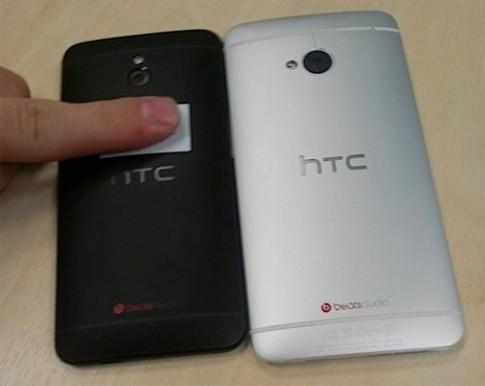 Hình ảnh rõ nét về HTC One bản mini 4,3 inch