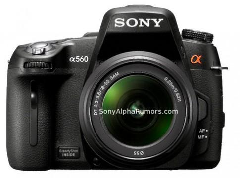 Hình ảnh Sony Alpha A560 và A580 lộ trên web