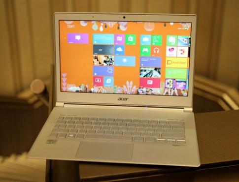 Hình ảnh thực tế Acer S7 tại Việt Nam