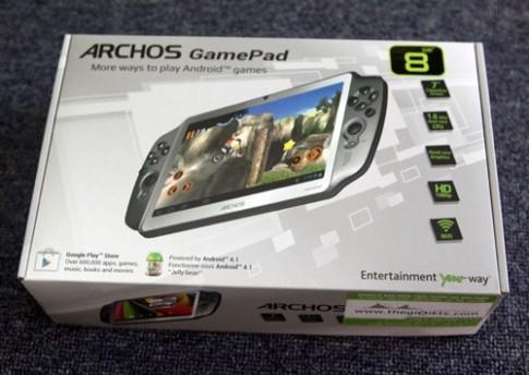 Hình ảnh thực tế Archos Gamepad tại TP HCM