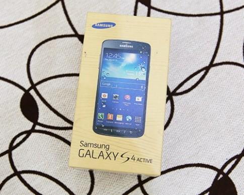 Hình ảnh thực tế Galaxy S4 Active tại Việt Nam