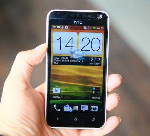 Hình ảnh thực tế HTC Desire 501 tại Việt Nam