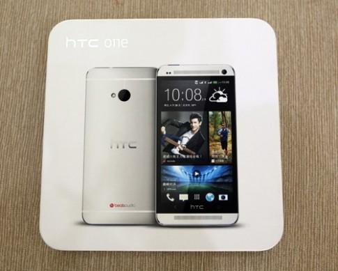 Hình ảnh thực tế HTC One phiên bản 2 sim tại VN