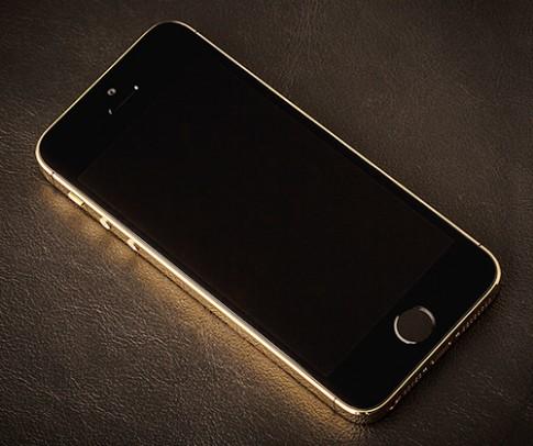 Hình ảnh thực tế iPhone 5S Gloosy Gold tại Việt Nam