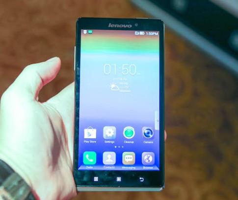 Hình ảnh thực tế Lenovo Vibe Z tại VN