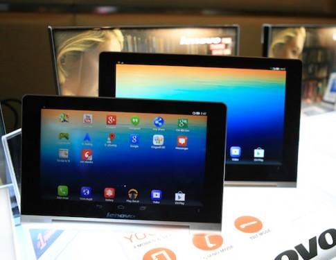 Hình ảnh thực tế Lenovo Yoga Tablet