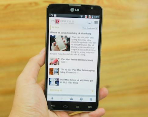 Hình ảnh thực tế LG G Pro Lite Dual tại Việt Nam