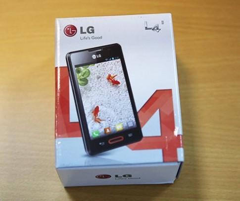 Hình ảnh thực tế LG Optimus L4 tại TP HCM