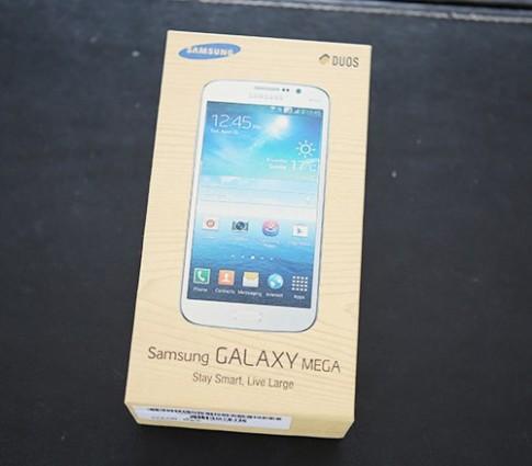 Hình ảnh thực tế Samsung Galaxy Mega 5.8