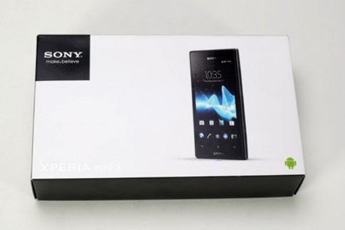 Hình ảnh thực tế Sony Acro S tại VN