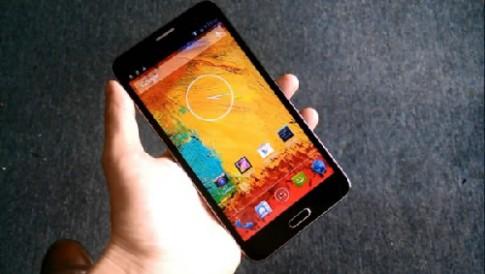 Hình ảnh và video điện thoại GooPhone N3 nhái Galaxy Note 3