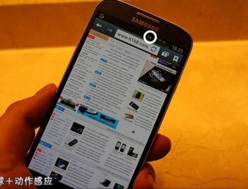 Hình ảnh về các tính năng trên Galaxy S IV