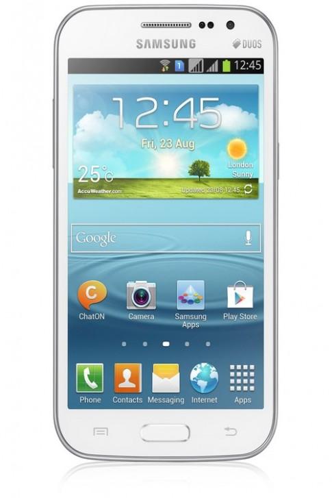 Hình ảnh về Galaxy Win 2 SIM dùng chip 4 nhân