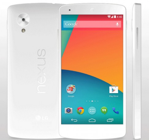 Hình ảnh về Google Nexus 5 với nhiều màu sắc khác nhau