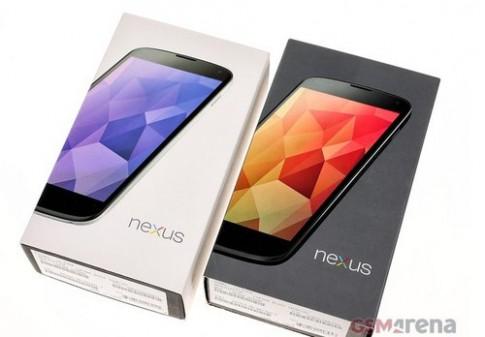 Hình ảnh về Nexus 4 màu trắng