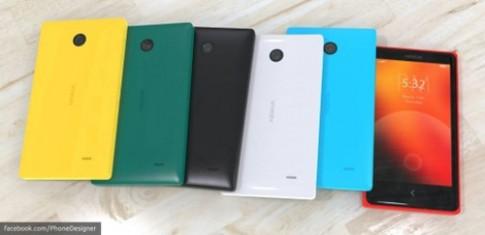 Hình dung về smartphone chạy Android của Nokia