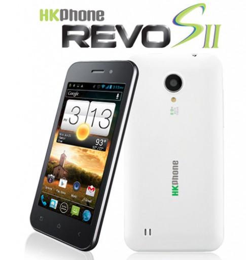 HKPhone ra smartphone lõi kép giá rẻ Revo S2